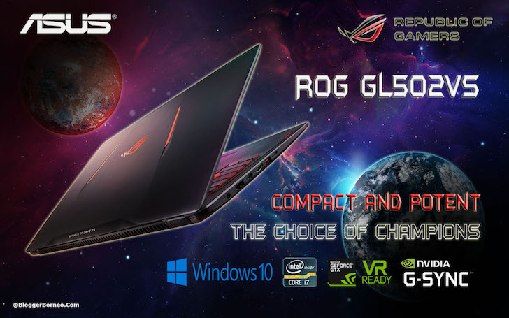 ASUS ROG Strix GL502VS