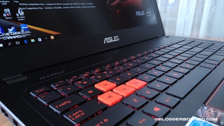 Keyboard Anti Ghosting ASUS ROG Strix GL502VS