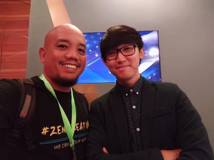 Blogger Borneo Welfie Bersama Eka Gustiwana