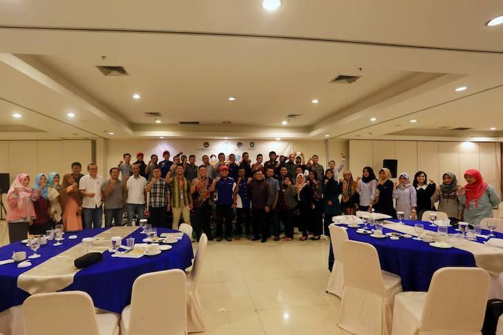 Foto Bersama Peserta Sarasehan Netizen Kalimantan Barat 2017