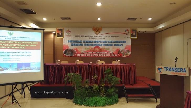 Kegiatan Peningkatan Kapasitas Pendamping UMKM ABDSI Kalbar Berbasis SKKNI Tahun 2017
