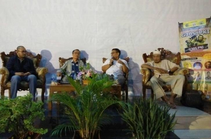 Tamu Undangan Nobar Film G30S PKI di IPM Kalimantan Barat