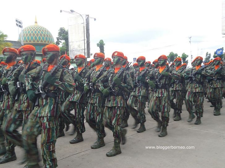 Pasukan TNI Paskhas Brajamusti