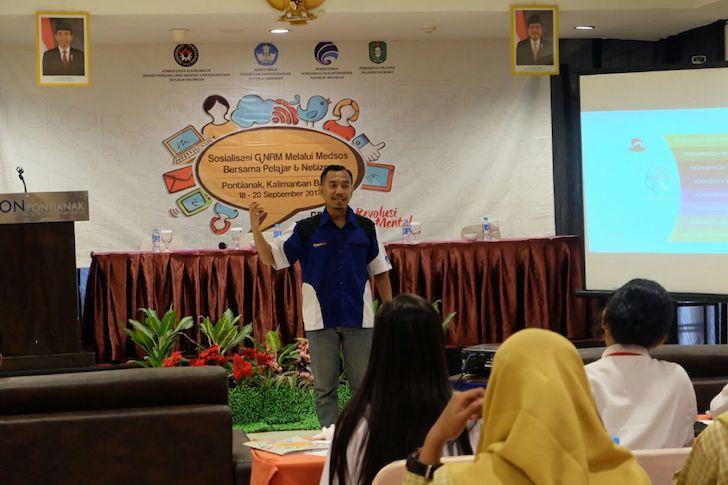 Pemateri Relawan TIK Indonesia
