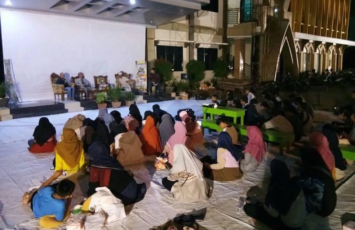 Suasana Nobar G30S PKI di Gedung Dakwah Muhammadiyah Kalimantan Barat