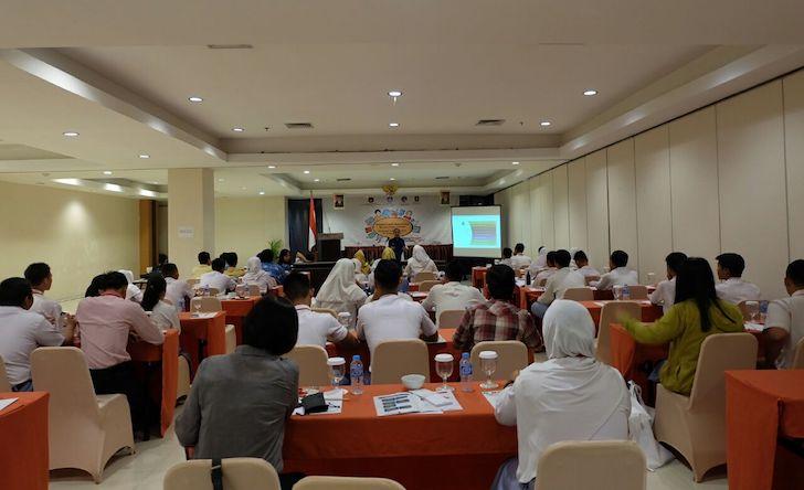 Suasana Pelatihan Media Sosial bagi Pelajar di Kalimantan Barat