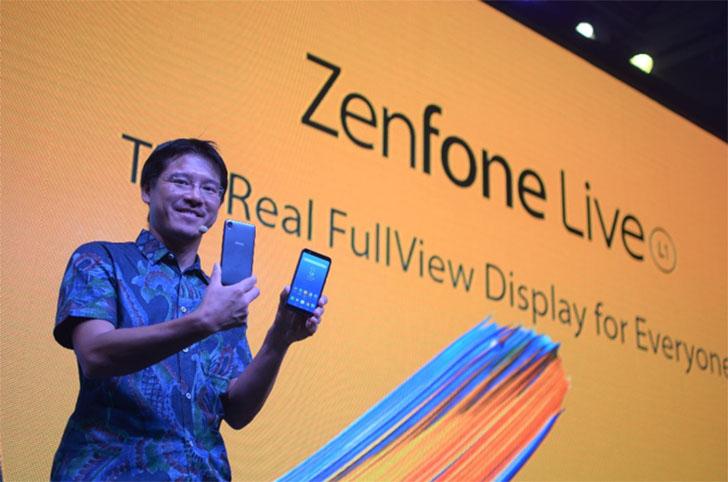 Benjamin Yeh Show ZenFone Live L1
