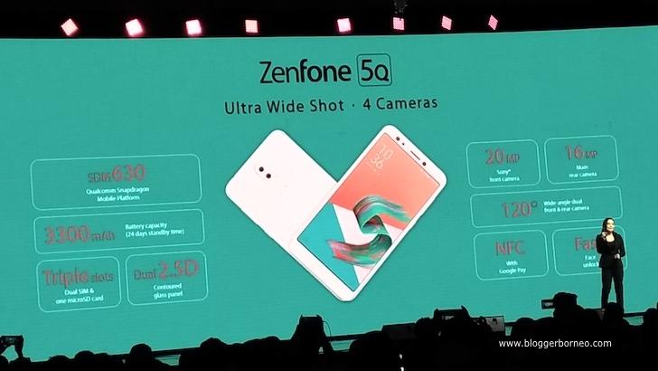 Brand Ambassador ASUS sedang Menjelaskan Mengenai Produk ZenFone 5Q