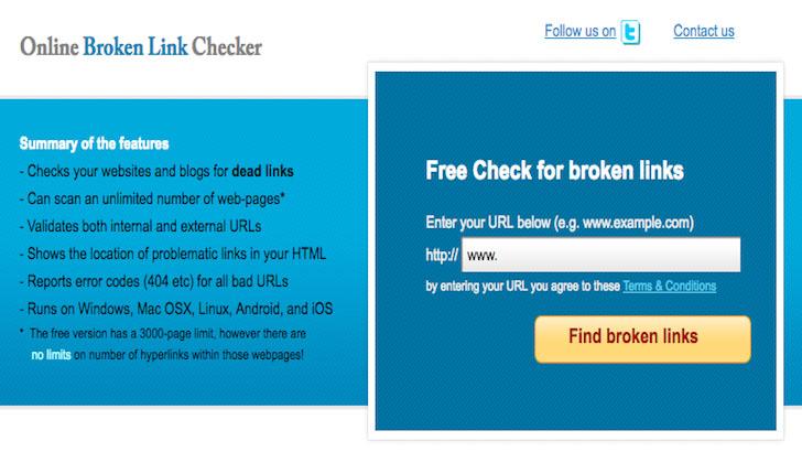 Cara Mengecek Broken Link di Blog