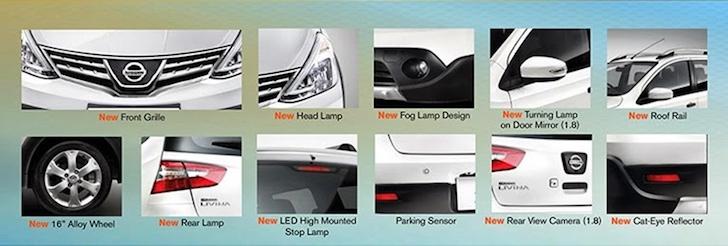 Desain Eksterior New Nissan Grand Livina X-Gear MPV 7 Seater