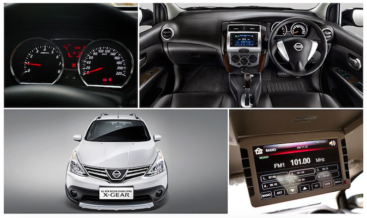 Desain Interior New Nissan Grand Livina X-Gear MPV 7 Seater