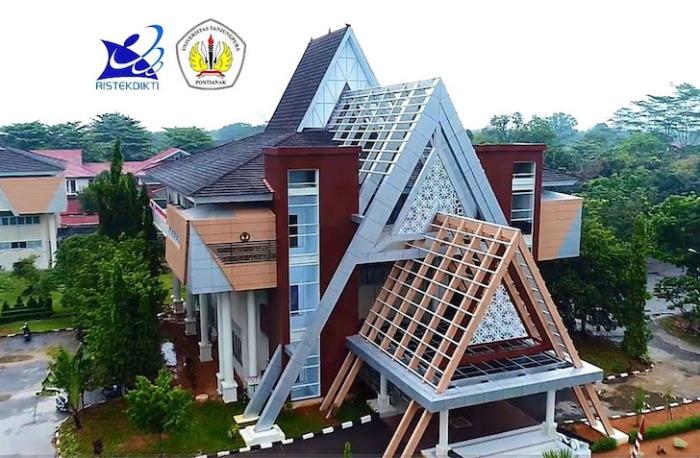 Gedung Rektorat Universitas Tanjungpura Pontianak