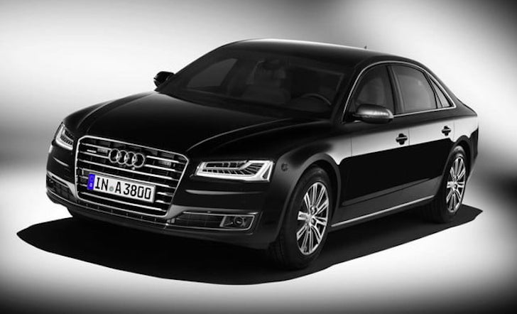 Mobil Anti Bom Audi A8 L Security