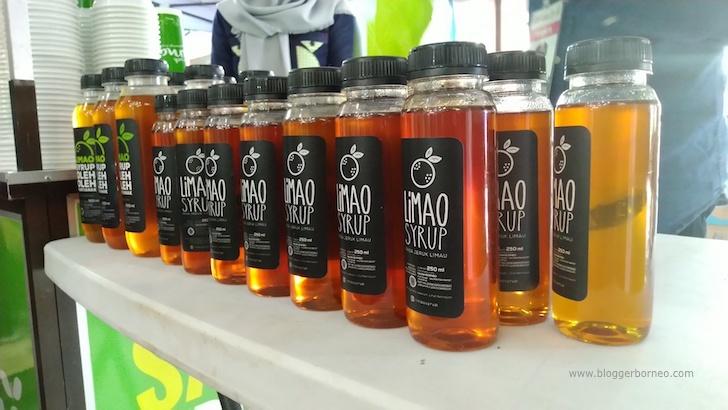 Produk Limao Syrup Khas Pontianak di UNIEX 2018