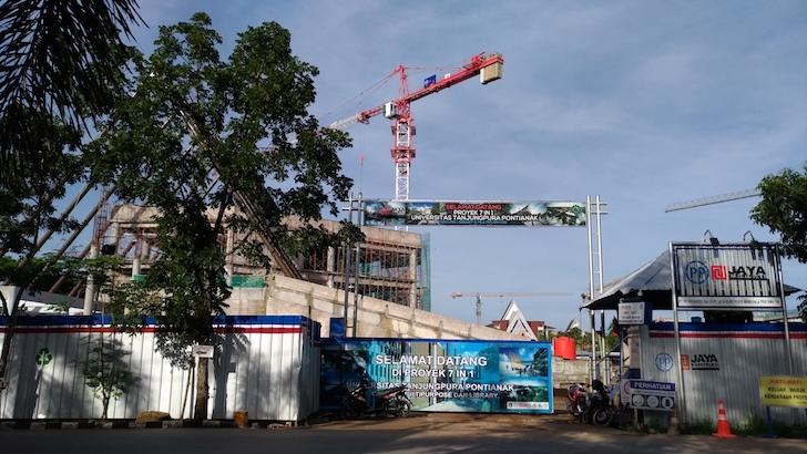 Proyek Pembangunan 7 in 1 Universitas Tanjungpura