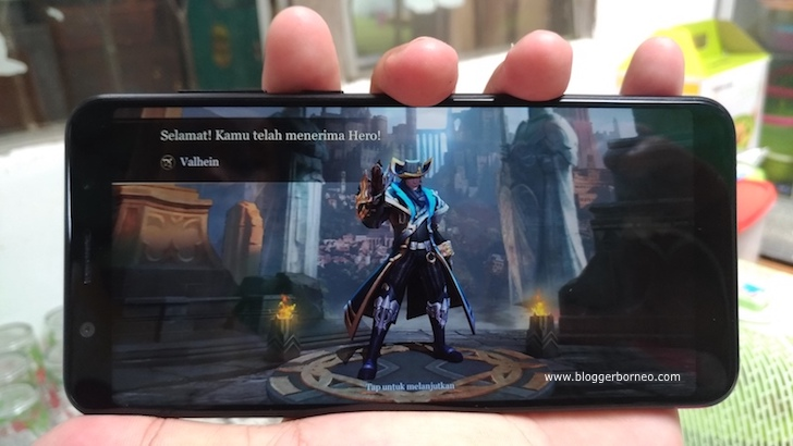 Bermain Game Arena of Valor dengan ZenFone Max Pro M1