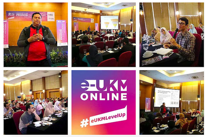 e-UKM Online Level Up Pontianak 2018